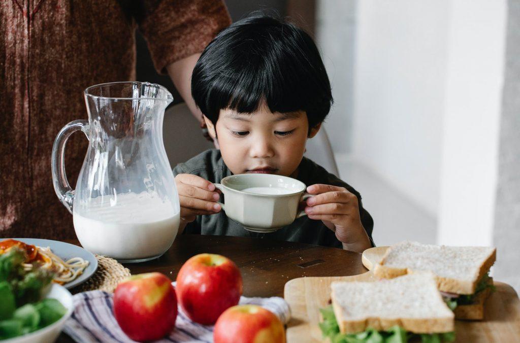 susu tinggi kalsium untuk si kecil
